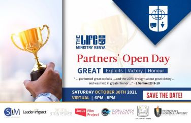 The LIFE Ministry Kenya Partners' Open Day